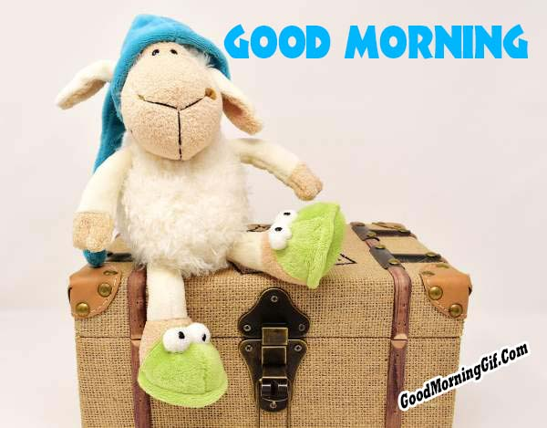 Cute Good Morning Image for Facebook