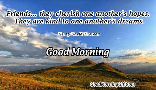 Good Morning Friend Quotes