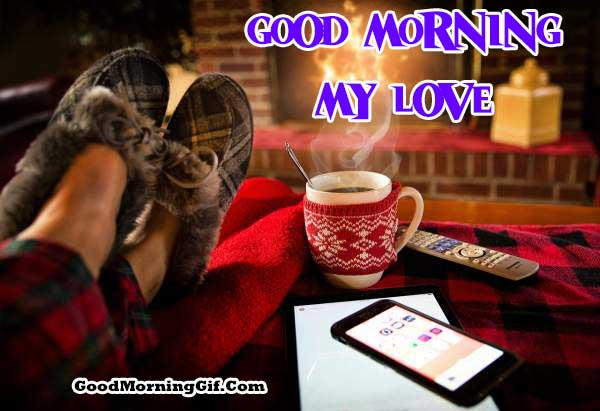 Good Morning Love Coffee Images for Boyfriend