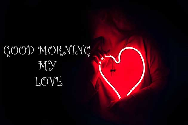 Good Morning My Love Images With Heart