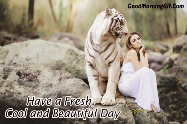 Have a Fresh, Cool and Beautiful Day