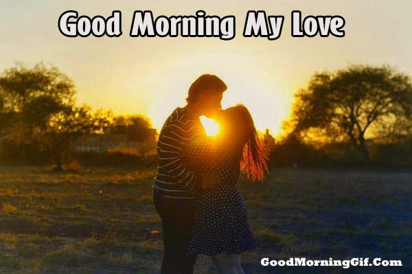 Romantic Good Morning Wallpaper