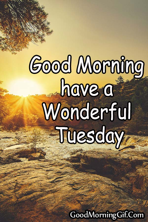 Happy Tuesday Good Morning Image For WhatsApp, Facebook, Pinterest